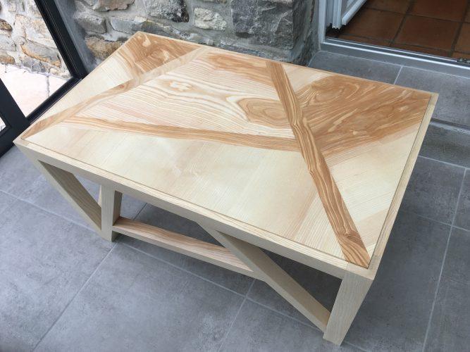 Table Basse en Frêne
